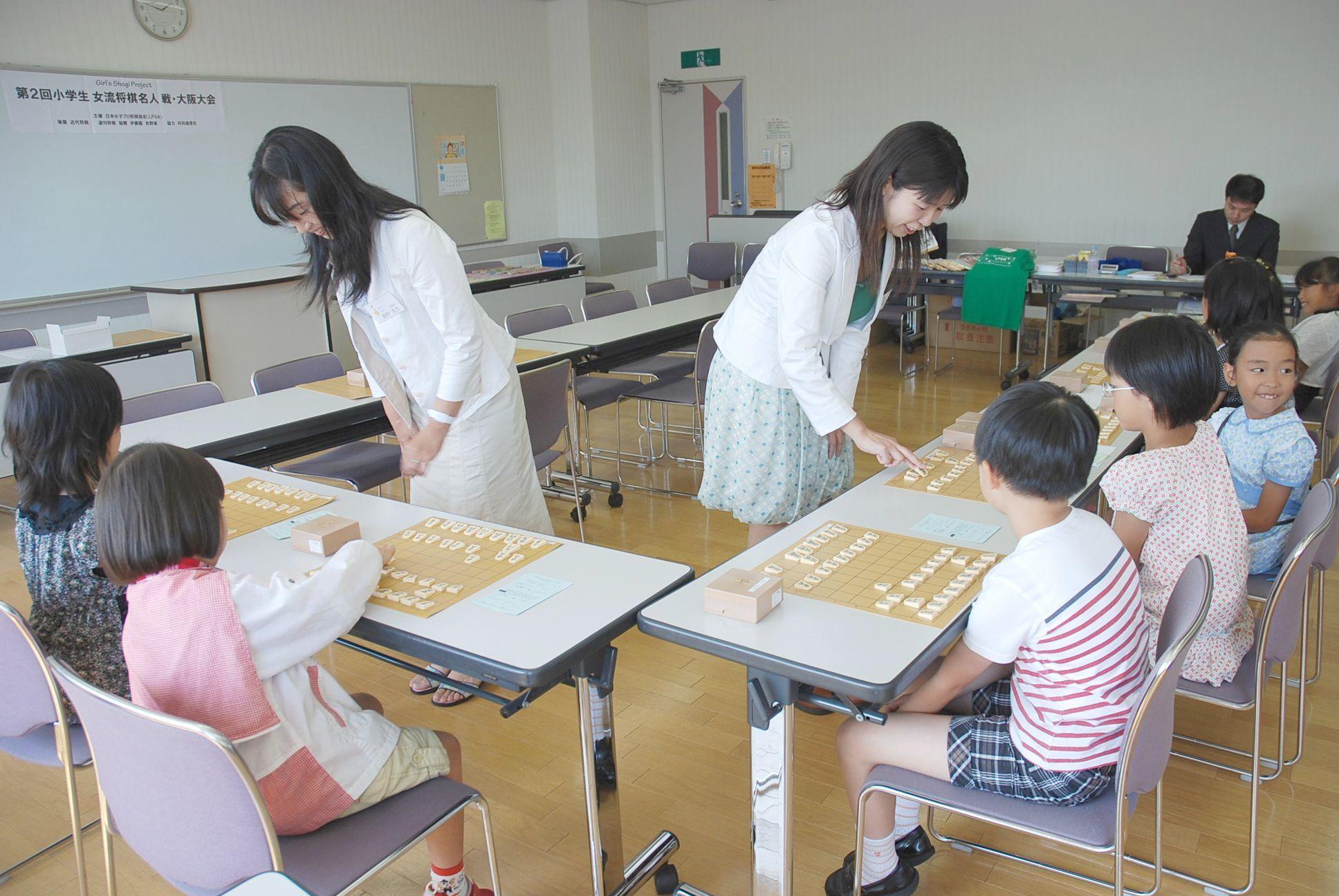 第2回小学生女流将棋名人戦大阪大会图片